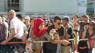 Moslem spuckt in München ägyptische Christin an
