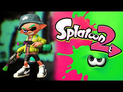 Splatoon 2 - Hectic Action - Global Testfire