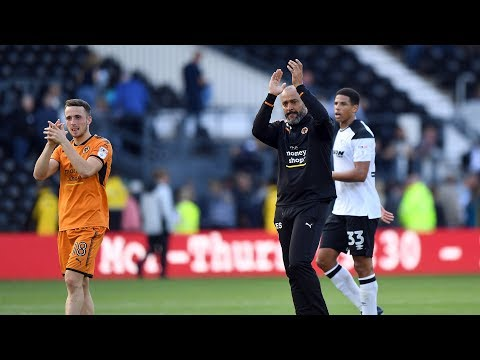 Nuno Espirito Santo On Derby Win