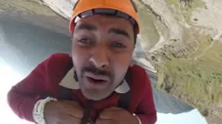 हैट मर्ने गरि  हसायो उफ कति हास्नु हो ?  | Viral Bunjee Jump Nepal | Bidur Ghimire ....