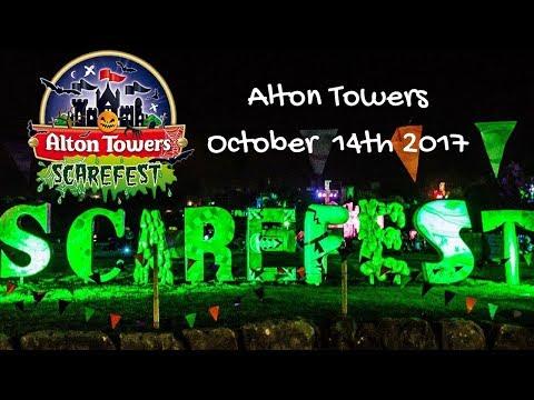Alton Towers Scarefest October
