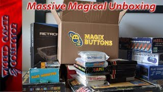 Time for a Massive Unboxing with some Magic with Magix Buttons !!
