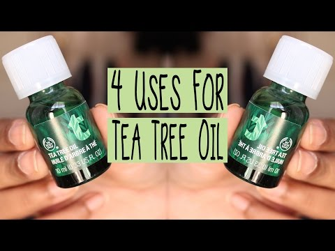 4 Uses for The Body Shop's Tea Tree Oil | Zahrah Aliyah
