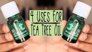 4 Uses for The Body Shop's Tea Tree Oil | Zahrah Aliyah(Be sure to subscribe for more videos! I upload every Thursday :) ♥ SOCIAL MEDIA ♥ Blog: http://www.zahrahaliyah.com Instagram: @zahrahaliyah Snapchat: ..., 2015-09-13T06:17:56.000Z)