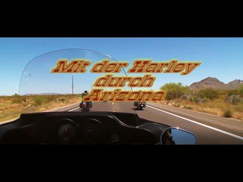 Mit der Harley durch Arizona - Film