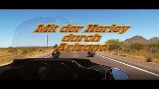 Mit der Harley durch Arizona