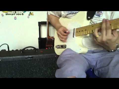 Fender Tele RE58 through HotRod George Benson