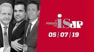 Os Pingos Nos Is - 05/07/19 - Novas mensagens atribuídas a Moro / Aécio réu / Maia no Pânico