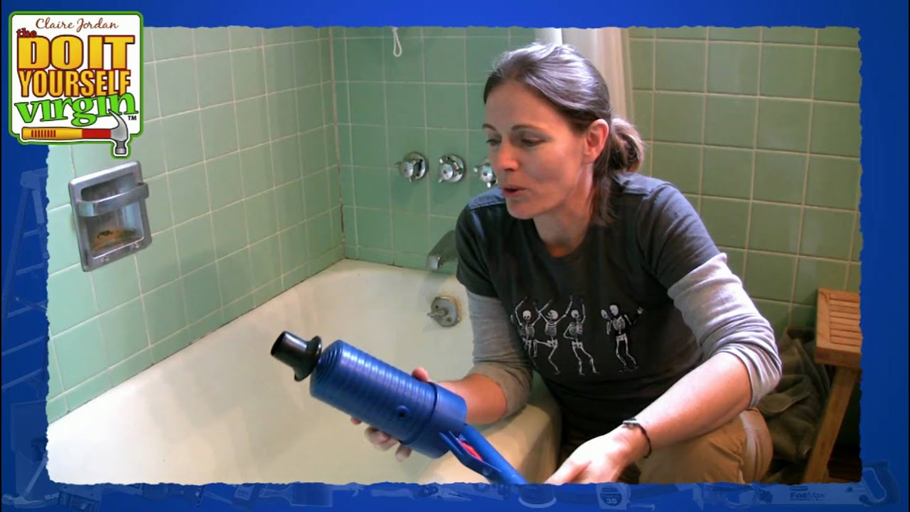 Drain Blaster Product Review  Air Gun For Your Toilet