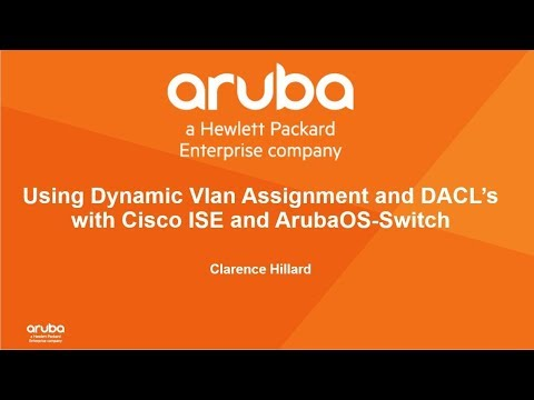 Integrating ArubaOS With Cisco ISE : Vlan Assignment/ DACL's