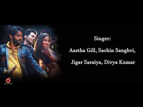 Kamariya Lyrics Stree | Aastha Gill | Sachin Sanghvi | Jigar Saraiya | Divya Kumar