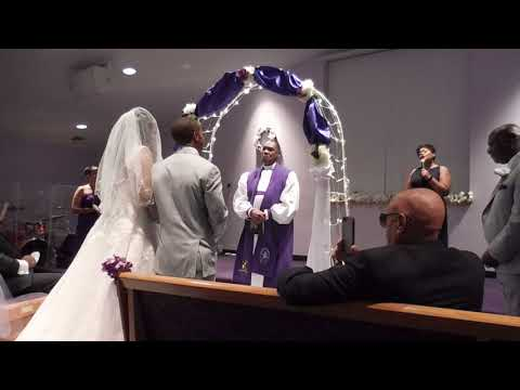 Terrell And Kashara Spivey's Holy Ghost Filled Wedding!