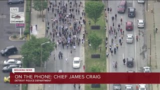 Chief James Craig speaks on investigation and protests