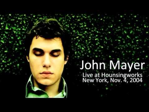 01 tracing john mayer live at housingworks in new york november 19 2004 youtube. Black Bedroom Furniture Sets. Home Design Ideas