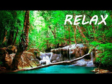 Relaxing Music and Soothing Water Sounds 2 🔴 Sleep 24/7 B
