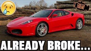 My New Ferrari Already Broke :(