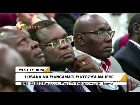Gavana Lusaka na Wangamati watozwa na IEBC