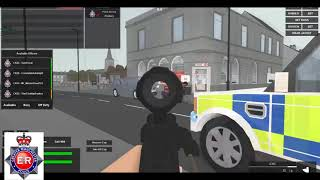 Roblox-Eastbrook| Tactical fire arms unit vs spider man-Greater Manchester police