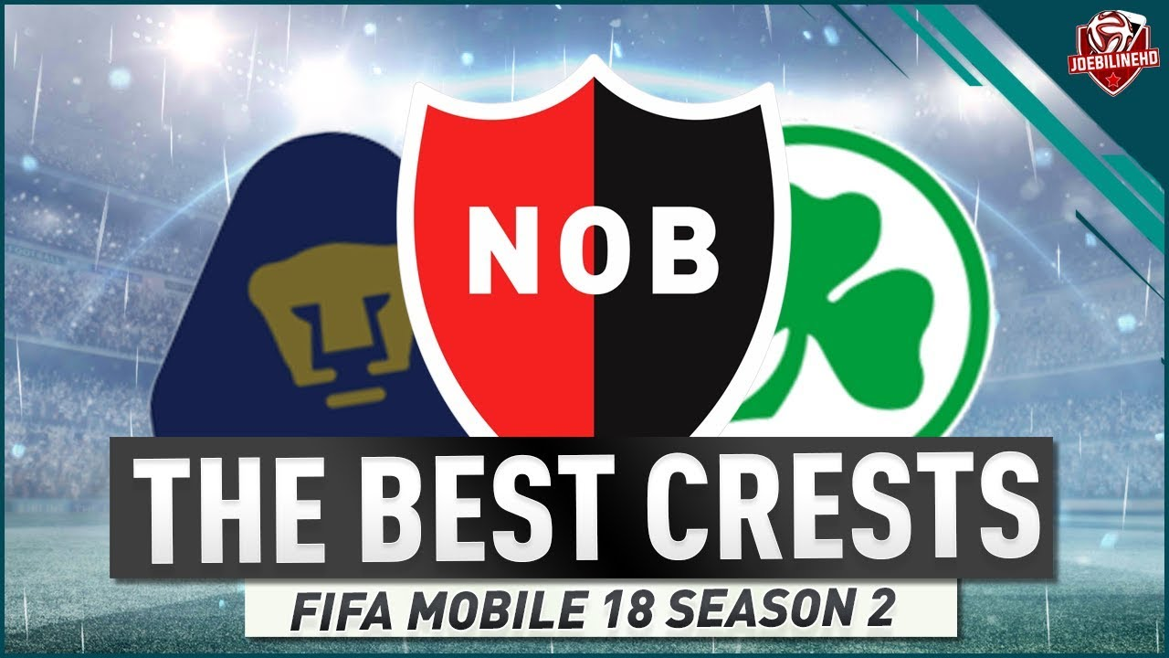 THE BEST CRESTS IN FIFA MOBILE 18 #FIFAMOBILE SEASON 2 BADGES