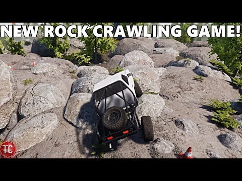 NEW ROCK CRAWLING GAME 2018! Pure Rock Crawling - Let's Try