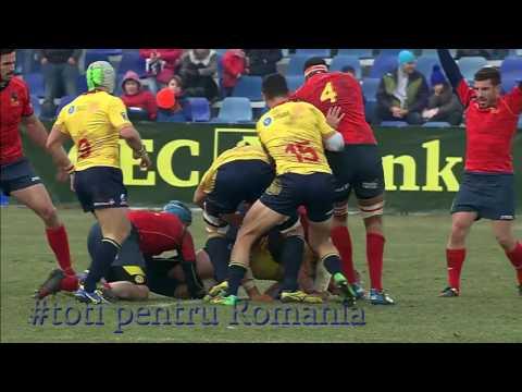#REC 2017 Secvente ale unei victorii: Romania - Spania 13-3