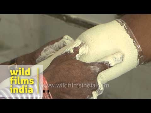 Process of making artificial limb : Jaipur Foot