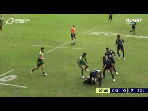 Cook Islands 18's v Solomons Game 1 Oceania 7's, 2018