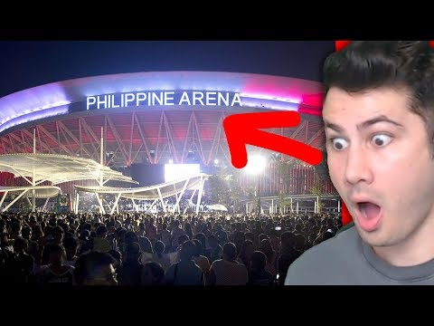 Does Philippines Have Biggest Arena In The World? | The Philippine Arena