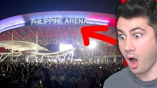 Does Philippines Have Biggest Arena In The World?   The Philippine Arena