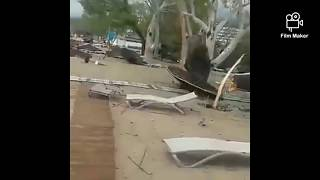 Storm Extreme Weather Northern Greece July 2019
