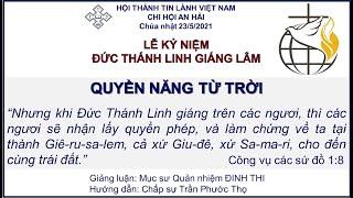 HTTL An Hải - Chương Trình Thờ Phượng Chúa - 23/05/2021