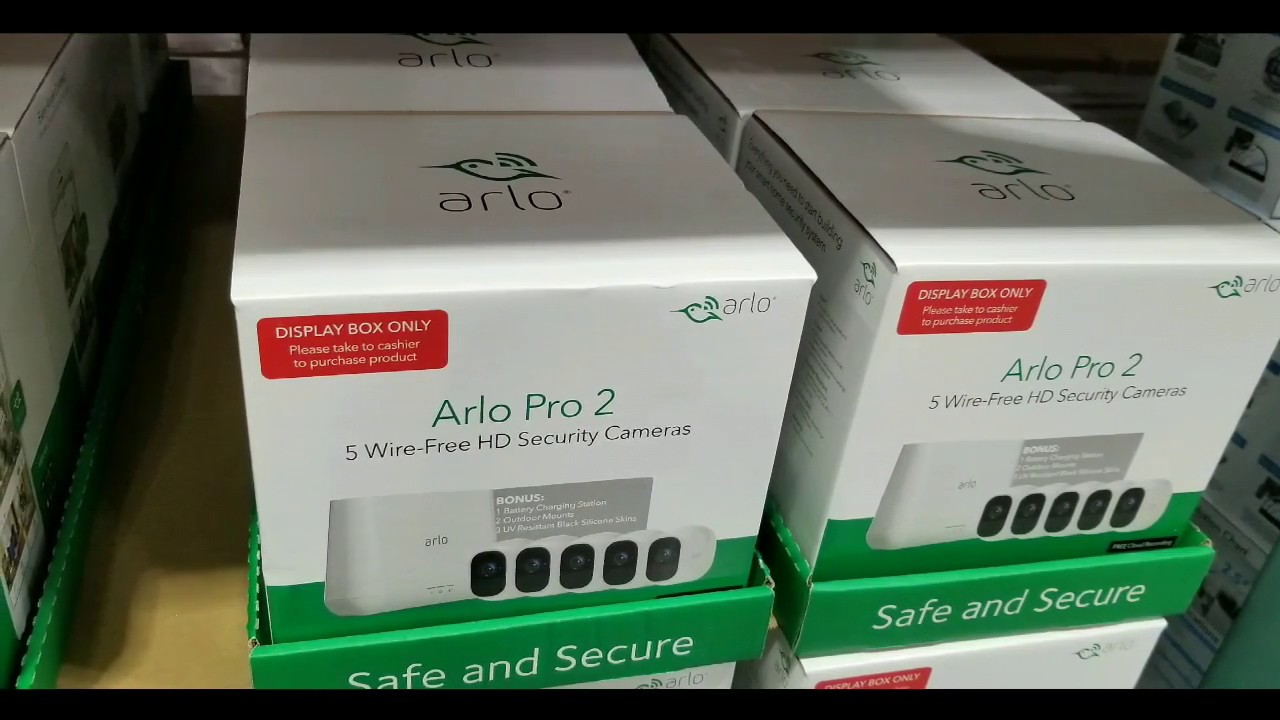 Costco! Arlo Pro 2 - Wire-Free 5 HD Camera Security System! $749!!!