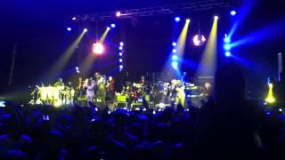 Earth Wind and Fire, Imagination et Kool and the Gang Live