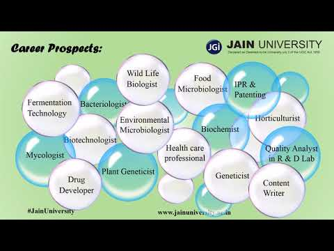 Bachelor of Science (BSc) - (Life Science) at JAIN UNIVERSITY, Banglore
