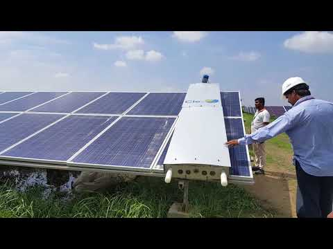 Cle-O - Automatic Cleaning Operator for Solar PV Panels