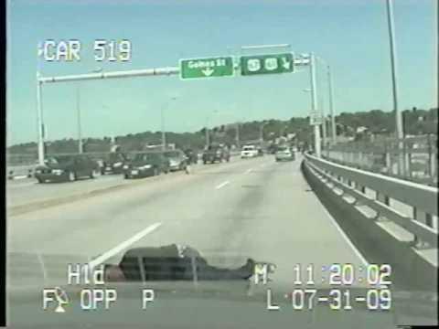 Centennial Bridge Shooting Dashcam