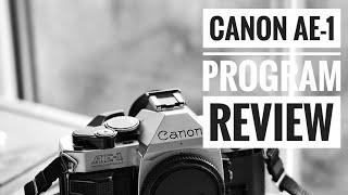 Canon AE-1 Program 35mm Film Camera - Review & User Guide.