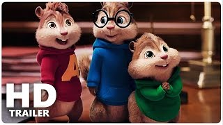 ALVIN UND DIE CHIPMUNKS 4 Trailer 1 + 2 German Deutsch | Road Chip Film 2016