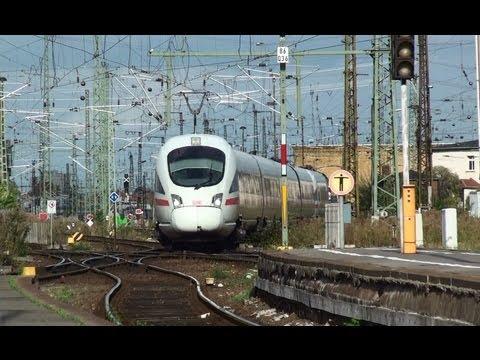 Züge am Hauptbahnhof Leipzig-Sommer 2012- mit Lippi