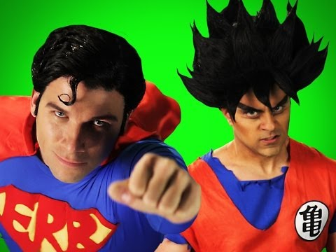 Goku vs Superman.  Behind the Scenes of...