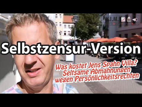 Was kostet Jens Spahn Villa? Seltsame Abmahnungen wegen Persönlichkeitsrecht (Selbstzensur-Version)