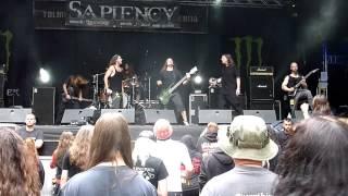 SAPIENCY-Unknown Enemy (live at Metaldays)