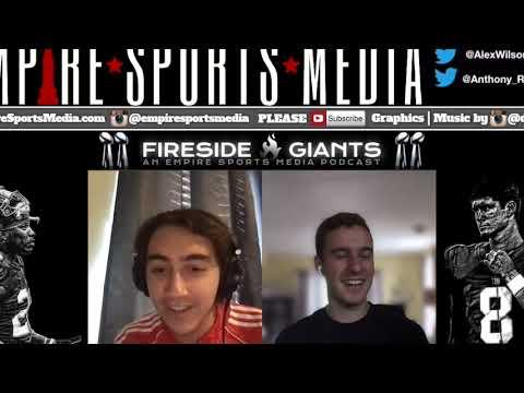 NY Giants: Fireside Giants Episode 24 (DeAndre Baker Update, Eli Manning awards, food talk & more!)