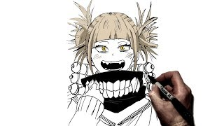 How To Draw Toga | Step by Step | My Hero Academia