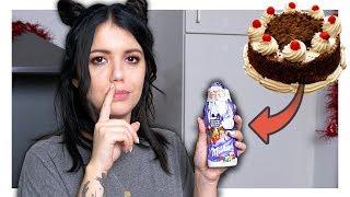Ich verstecke eine Torte im Schoko Weihnachtsmann PRANK