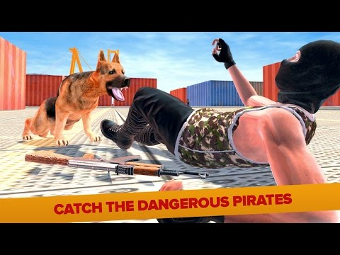 Police Dog Modern Pirate Chase (by Nation Games 3D) Android Gameplay [HD]