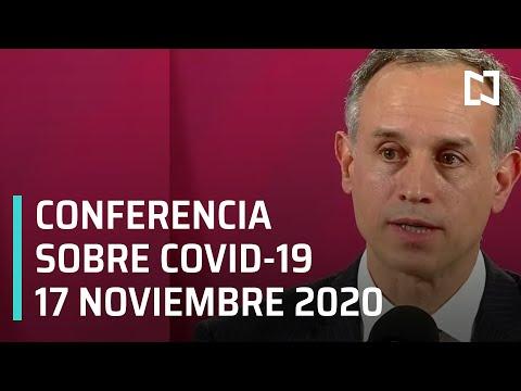 Conferencia Covid-19 en México - 17 noviembre 2020