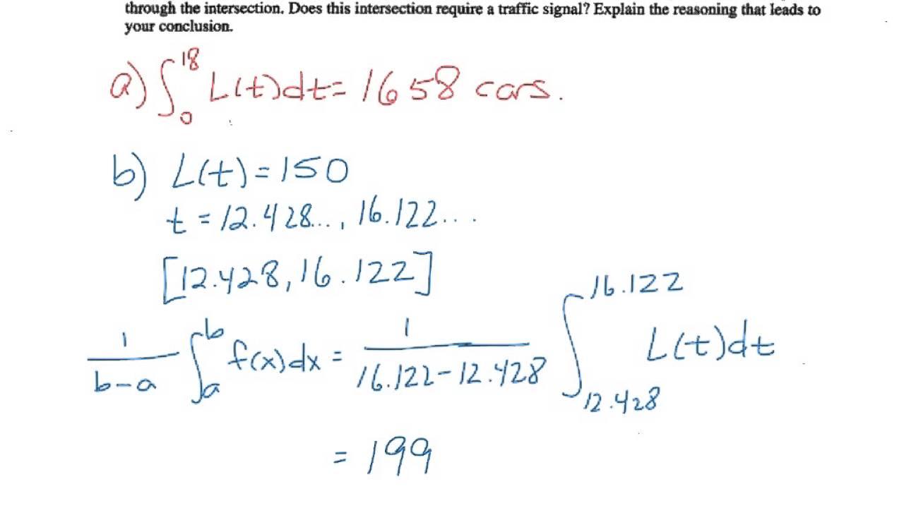 AP Calculus AB 2006 #2 - YouTube