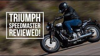 Triumph Speedmaster (2018) - first ride impressions | BikeSocial