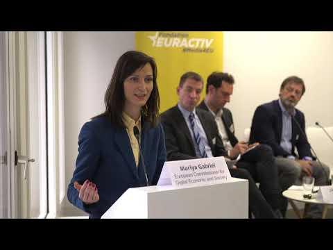 Can the EU do more for the media sector? Speech by Mariya Gabriel